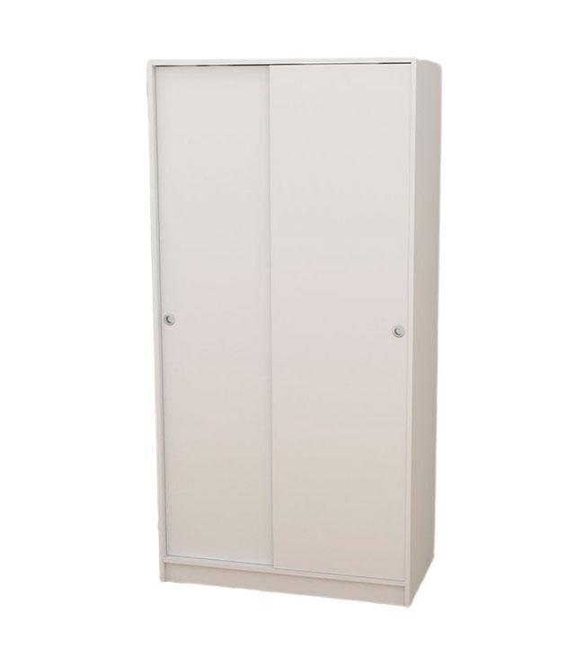 K 9457 armario de puertas correderas para montar con barra y maletero - Armario 2 puertas correderas ...