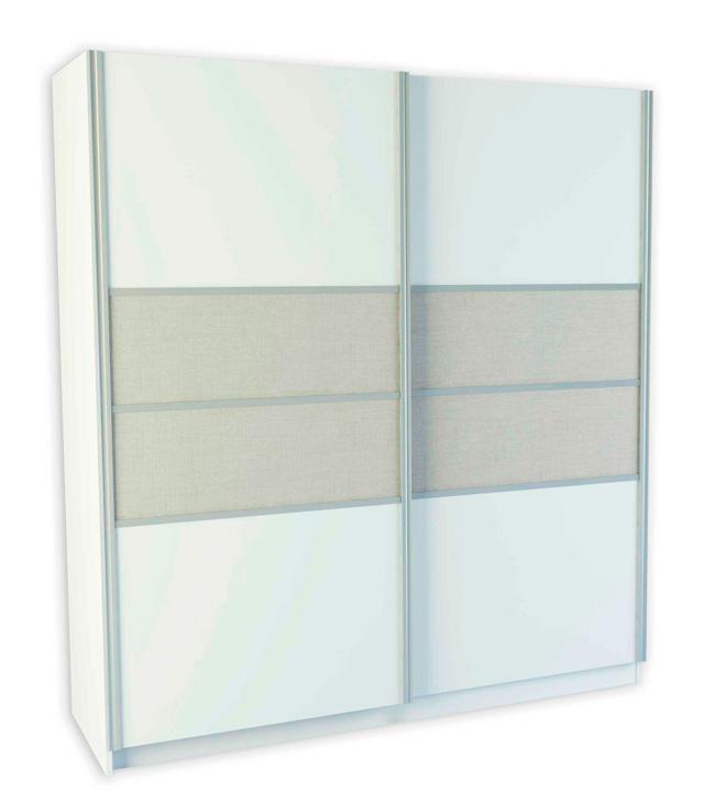 Puertas de armario correderas blancas beautiful modelo for Puertas correderas sevilla