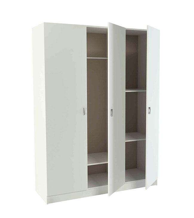 Armario con tres puertas abatibles modelo k 9470 fabricado for Armarios puertas abatibles
