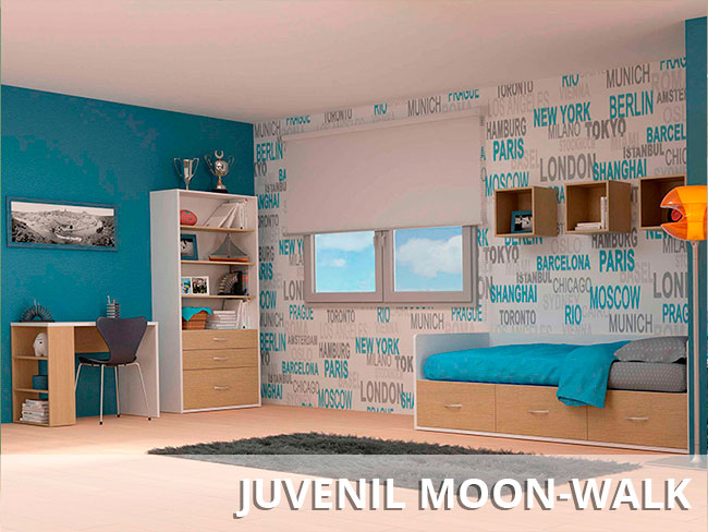 Fábrica de muebles juveniles en kit y dormitorios infantiles