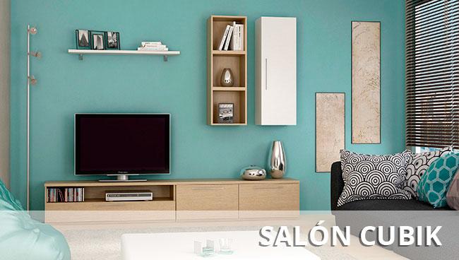 Muebles de sal n murales modulares y para television for Mueble zapatero multiestante