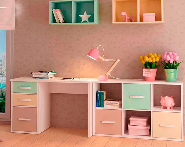 Escritorios estudio escritorios estudio zona de estudio for Mesas de estudio para espacios pequenos