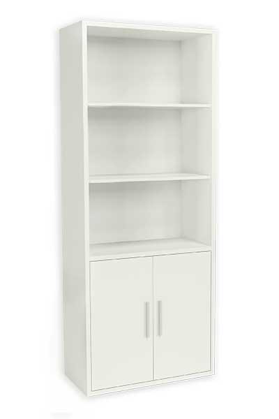 F bricante de estanter as y armarios multiestante en kit for Estanteria bano blanca
