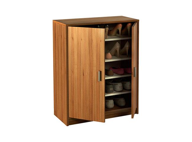 armario zapatero con puertas abatibles k 9468