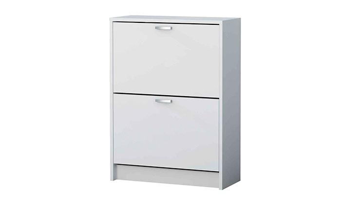 Mueble zapatero de 2 compartimentos para 12 pares k 302 for Zapatero 40 cm ancho