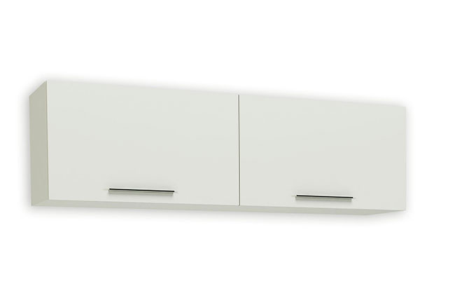 Mueble de sal n blanco brillo modelo madison en kit for Modulos salon blanco